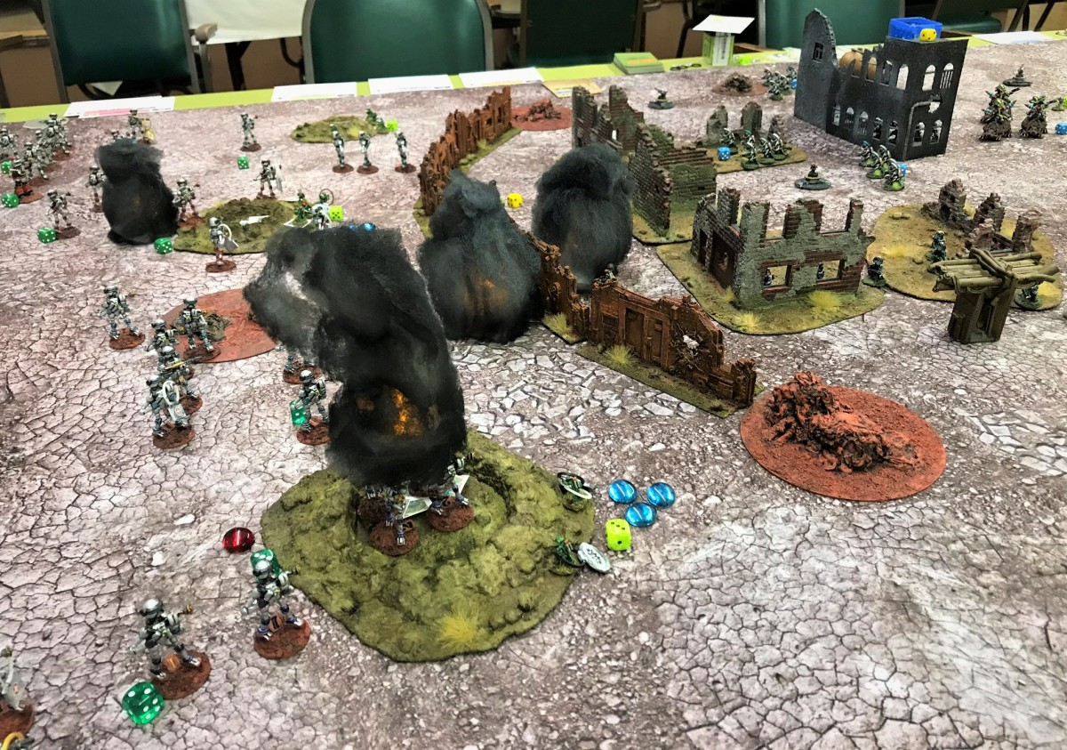 """Attack of the Warbots"" at September Mass Pikemen Gaming Session"