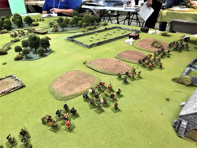 15 Lion Rampant Vikings move out