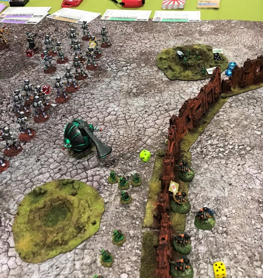 3 initial casualties