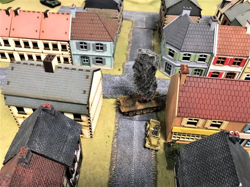 36 What a Tanker ISU152 takes out jagdpanzer IV burning