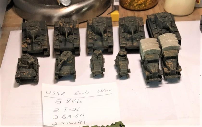 1 KV platoon unpainted