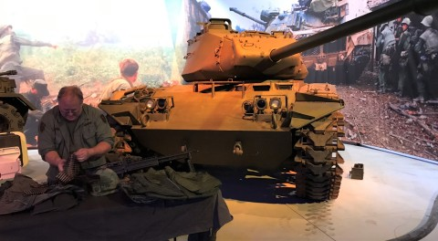 M41 Walker Bulldog light tank