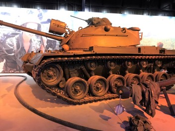M47 or M48 Patton