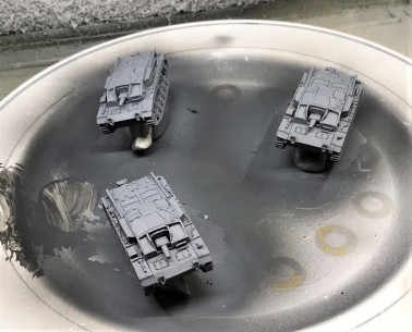 StuG IIIA's base coated