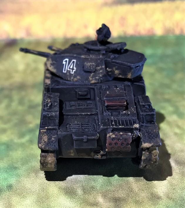 16 PzIIC rear