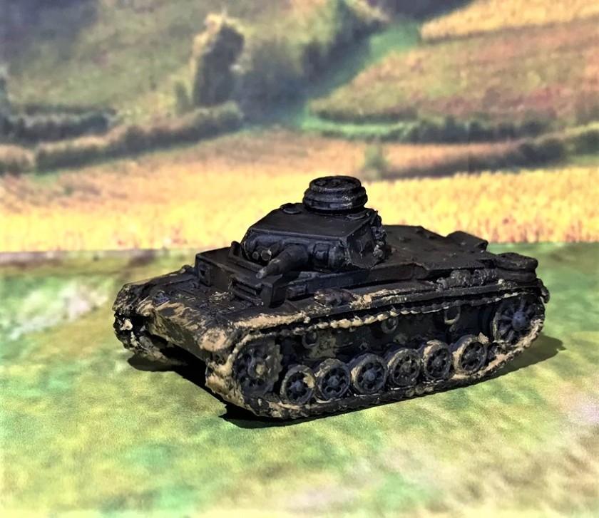17 Pz IIIE front