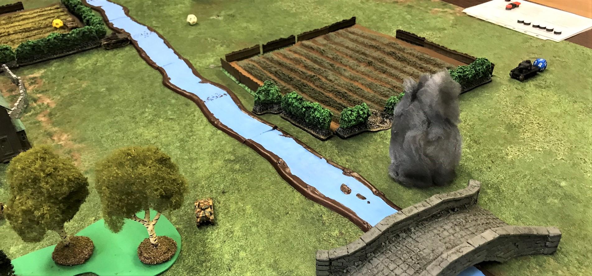 3 R35 knocks out Pz 38