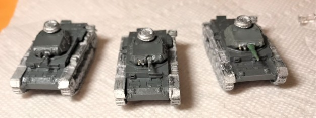 Assembled/repaired Pz IIIE's