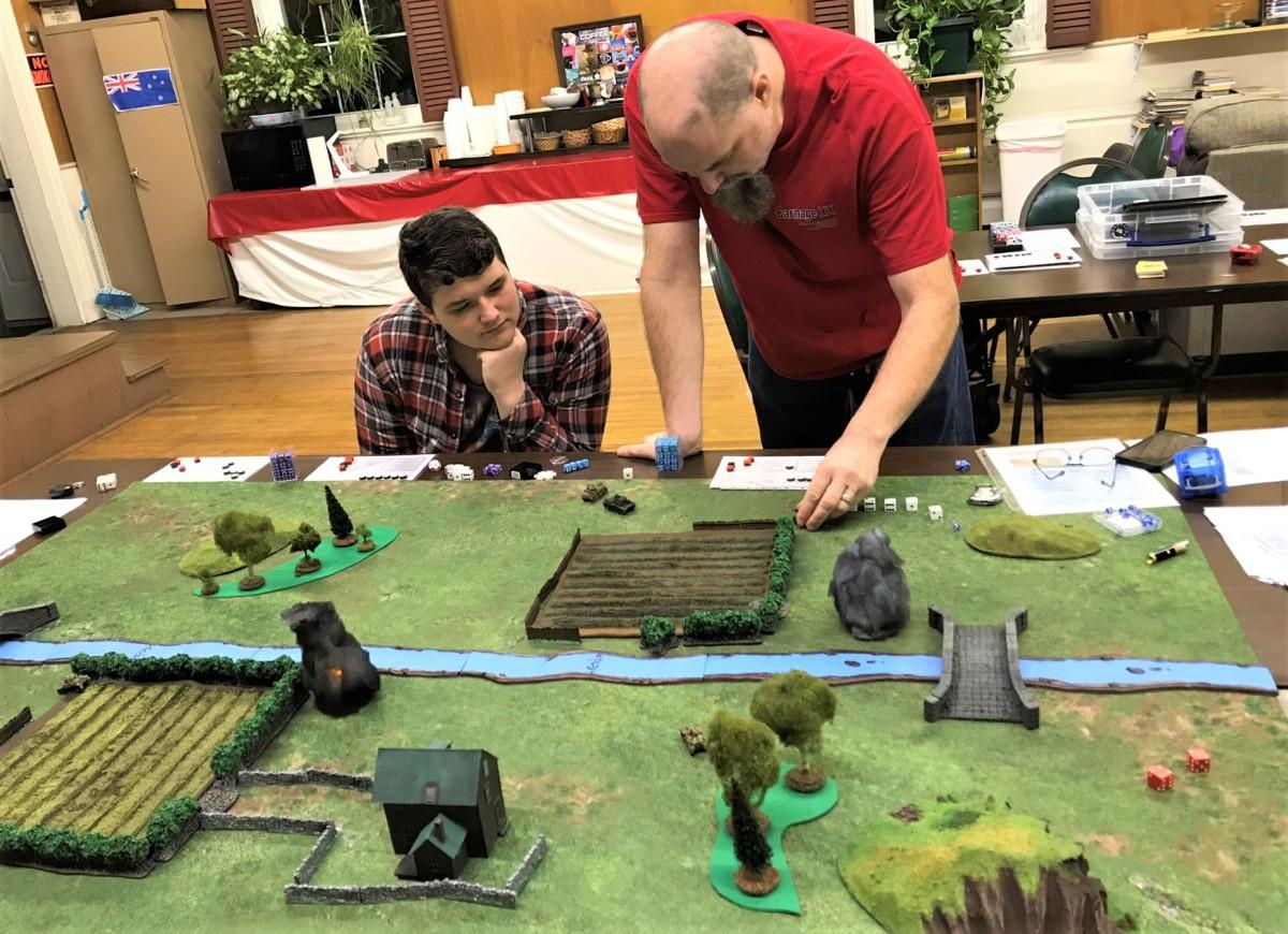 French defeat Germans at MassPikemen