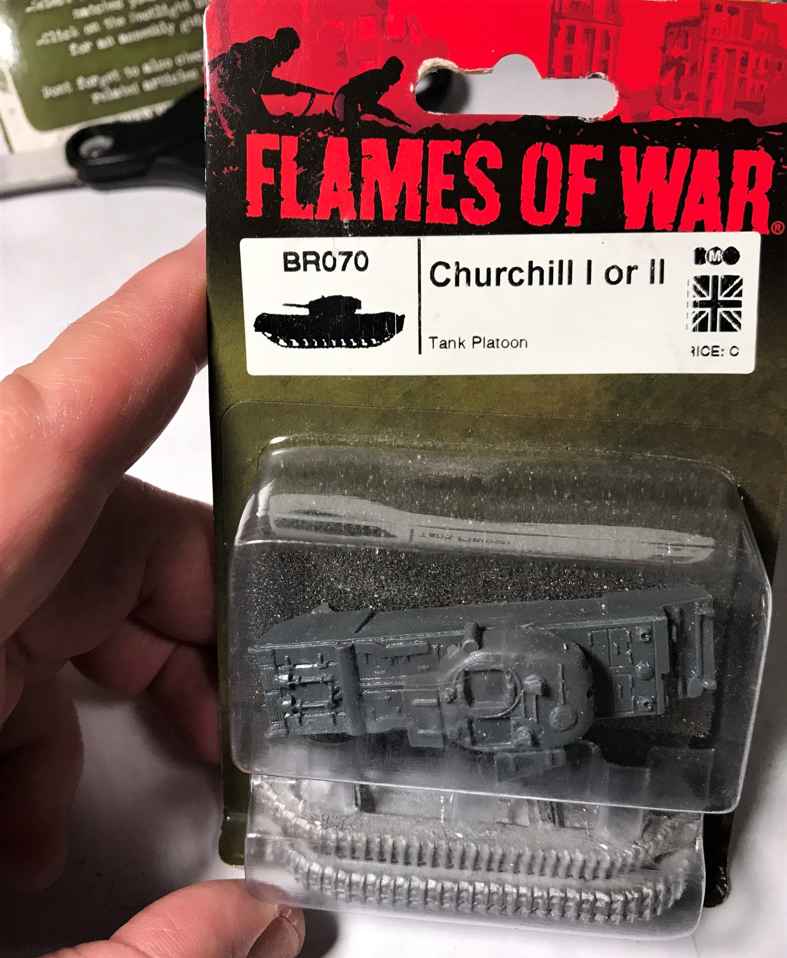 1 churchill ii in blister