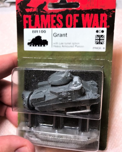 The M3 Grant in blister
