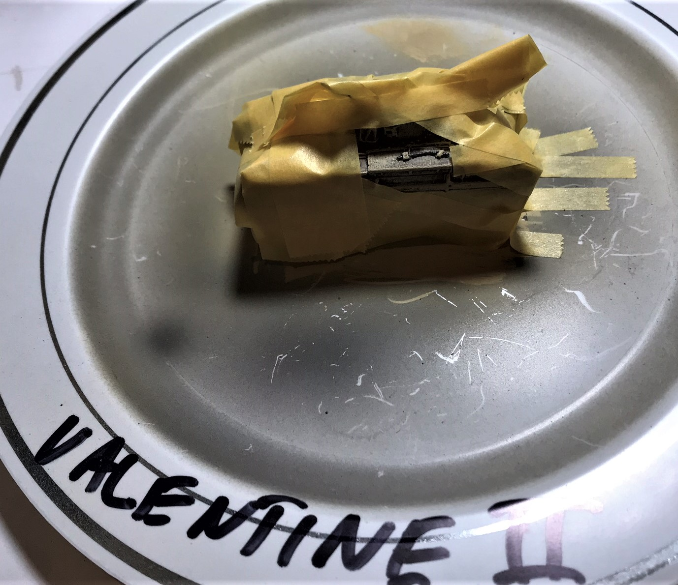 5 valentine ii prepped for caunter