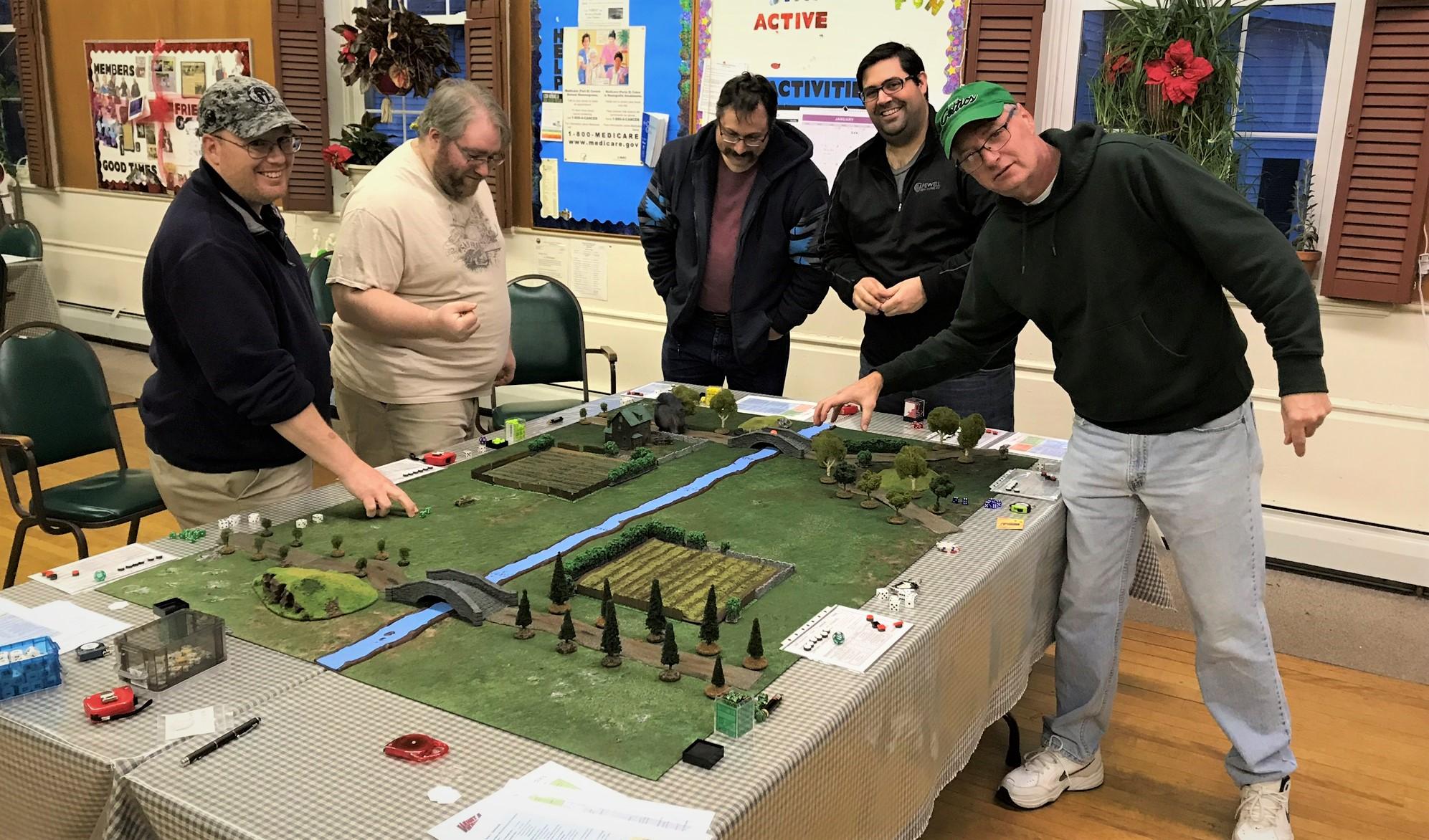 8 the players having fun