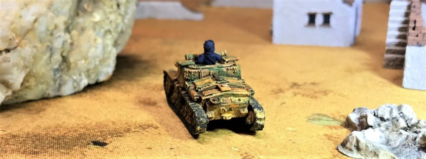 10 Semovente 75-18 Carro commando rear shot