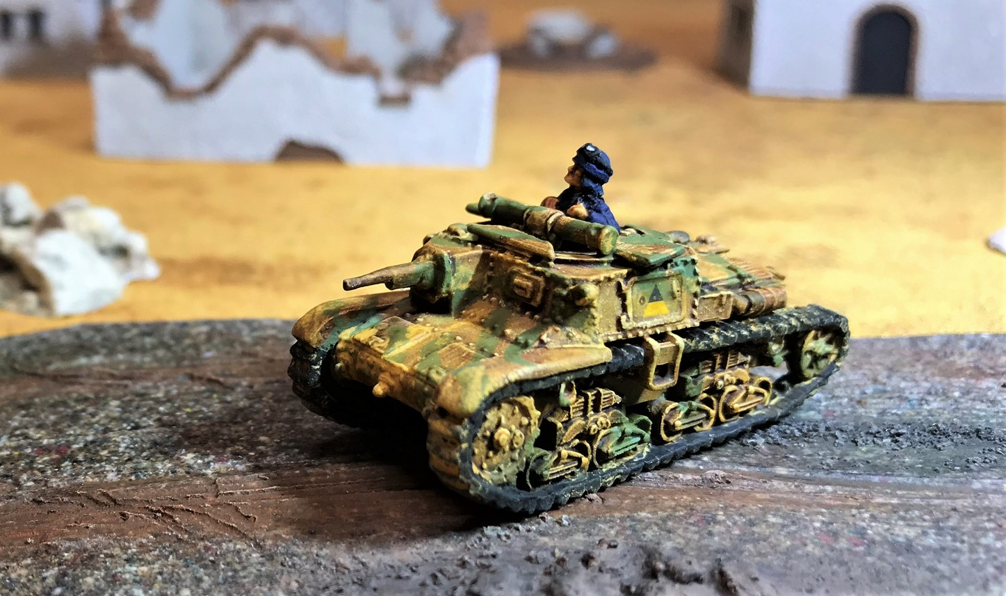 12 Semovente 75-18 Carro commando left side shot