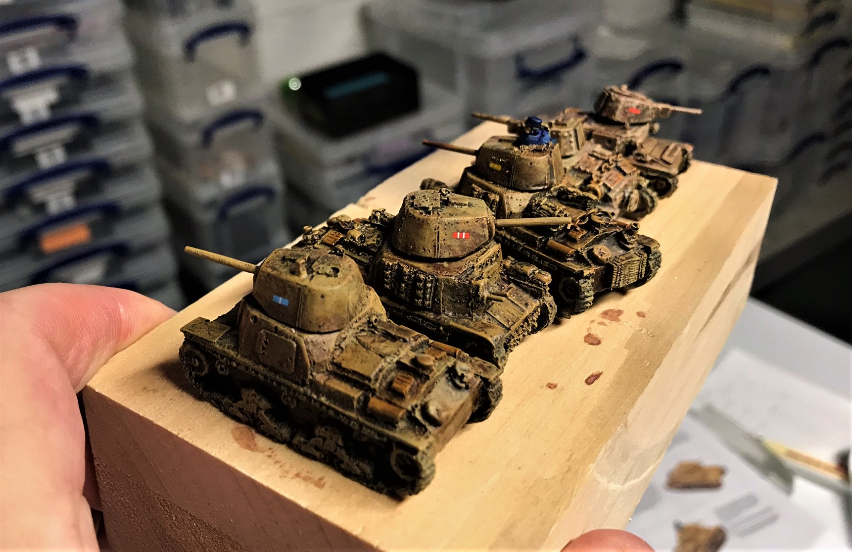 2 Wargames Models of Ohio repainted
