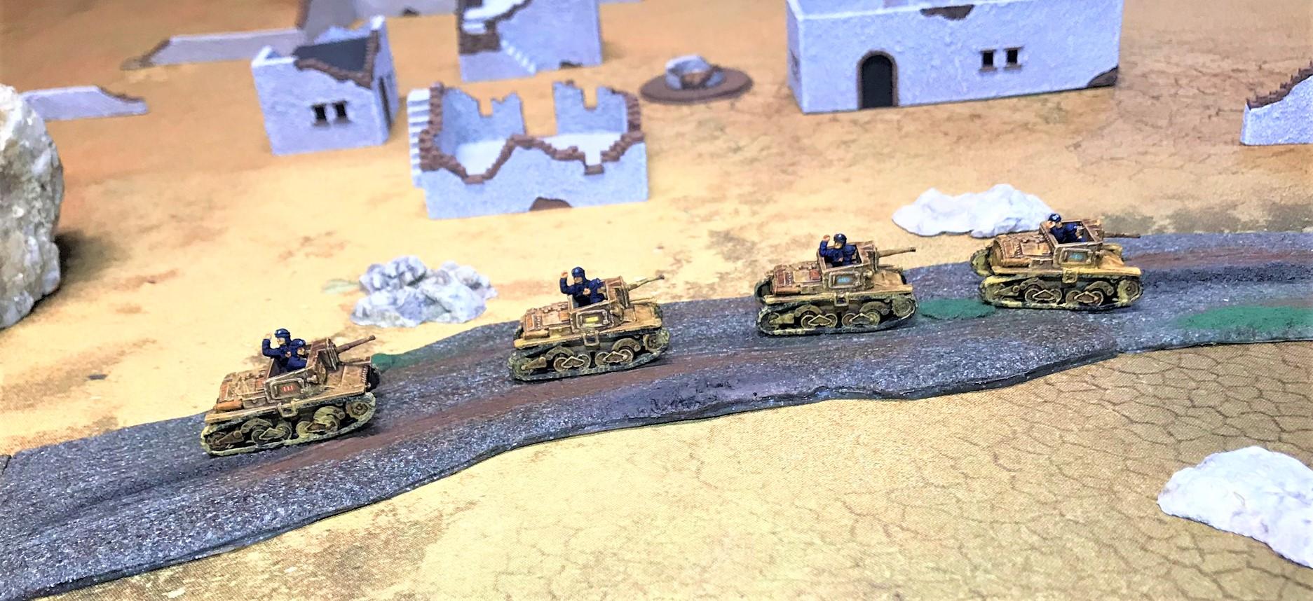 4 Semovente 47-32 convoy
