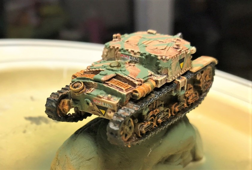 6 Semovente 75-18 rear view after camo and decals