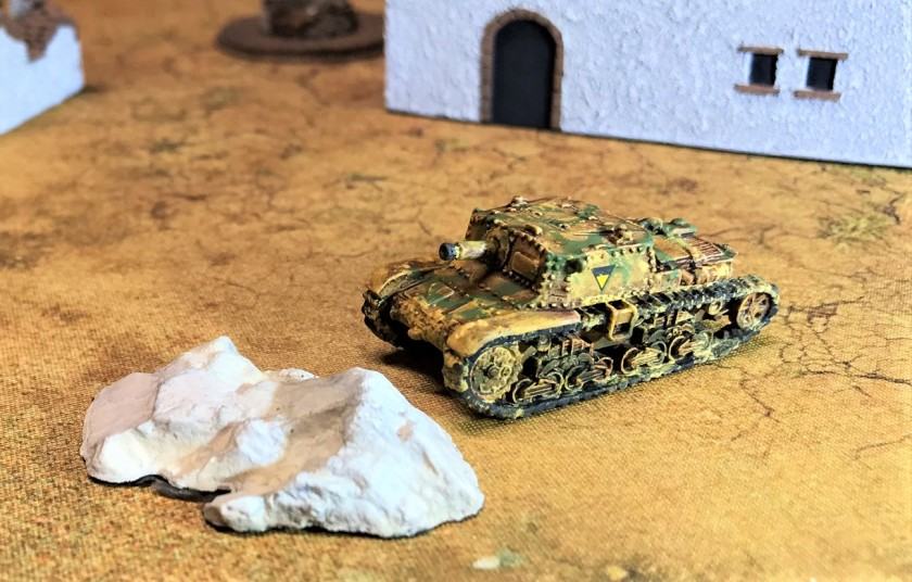 8 Semovente 75-18 right side shot