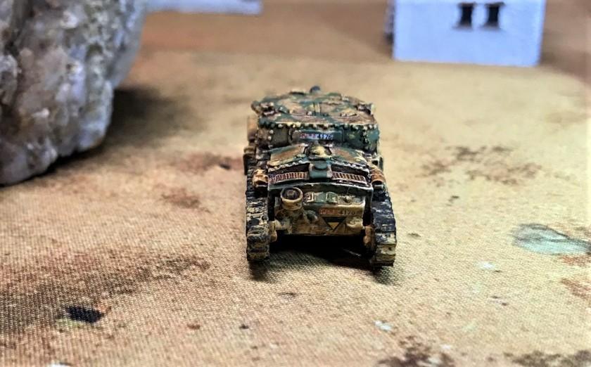 9 Semovente 75-18 rear shot