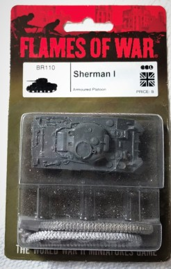 My Sherman in the blister