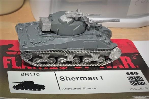 Assembled Sherman