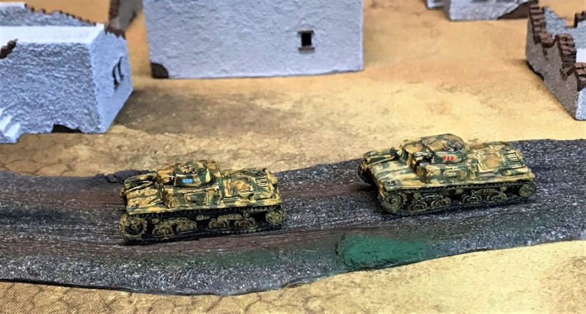 3 Italian M11's on road
