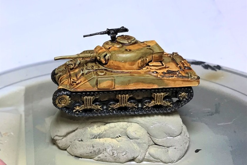 3 Sherman painted and washed