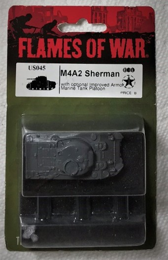 Sherman in blister