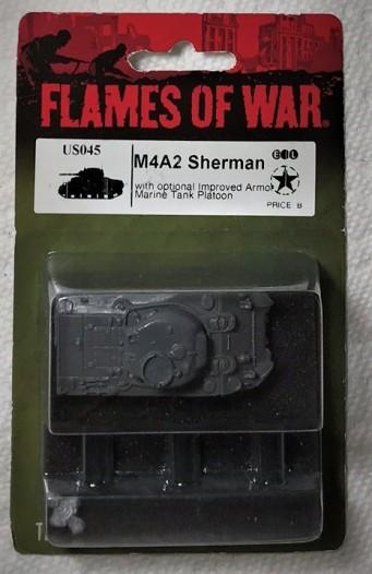 Sherman in blister