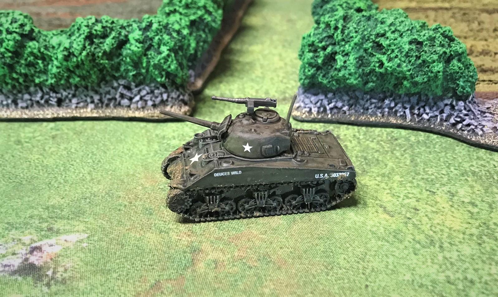8 M4A2 side