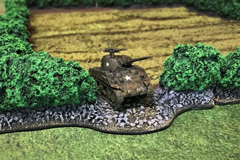 9 M4A2 front