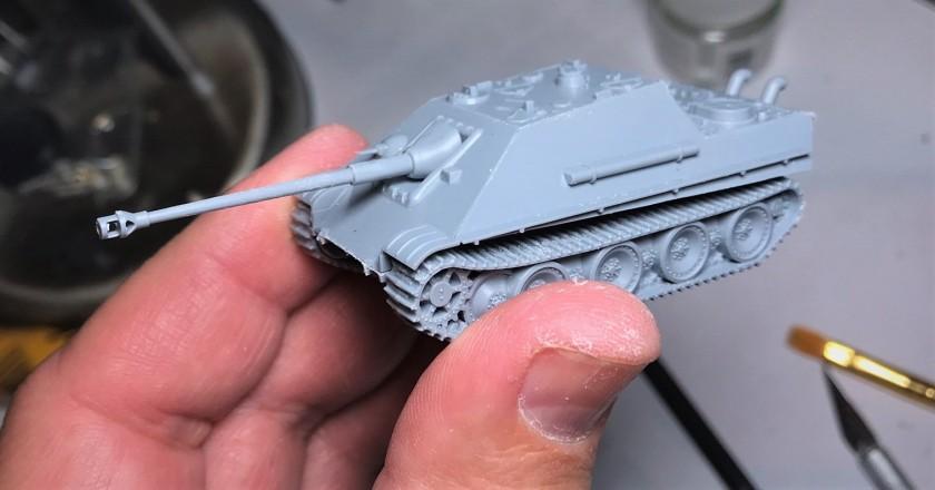 1 Jagdpanther assembled