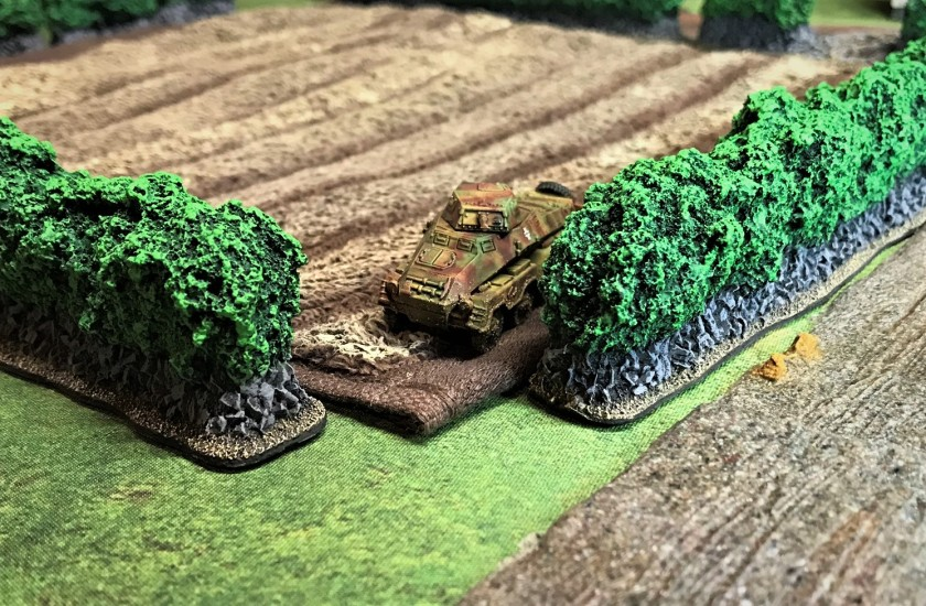 1 SdKfz 231 front Normandy