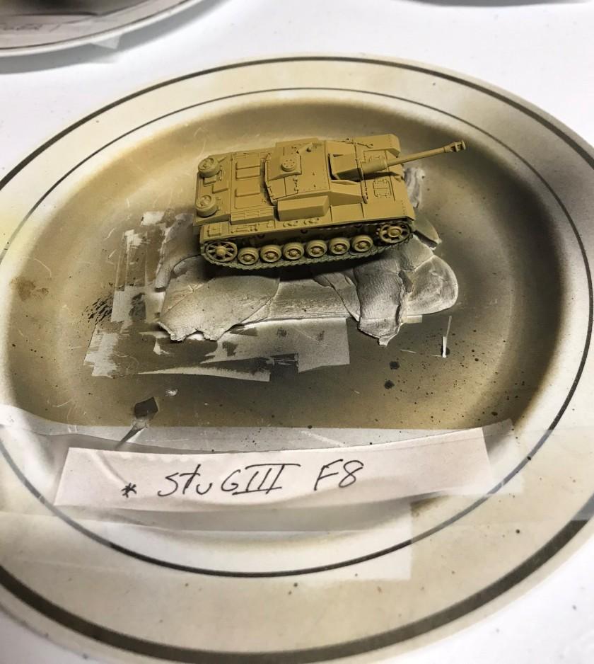 1 StuG F8 base coated