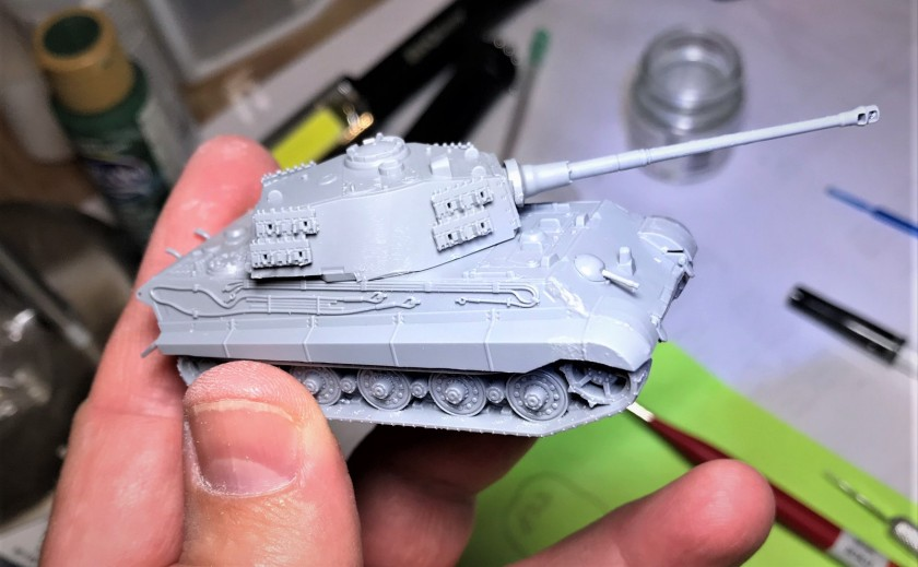 1 Tiger II Assembled