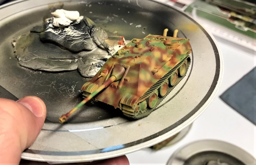 2 Jagdpanther painted