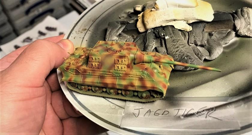 2 Jagdtiger painted