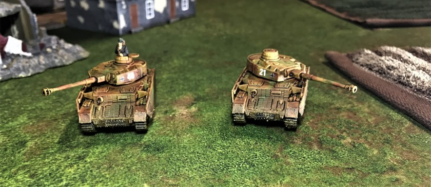 2 Panzer IVH's facing front