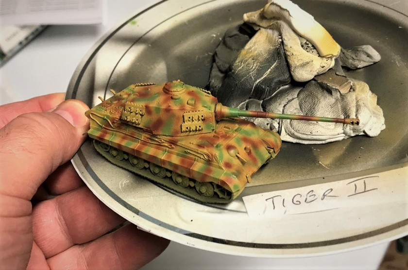 2 Tiger II painted