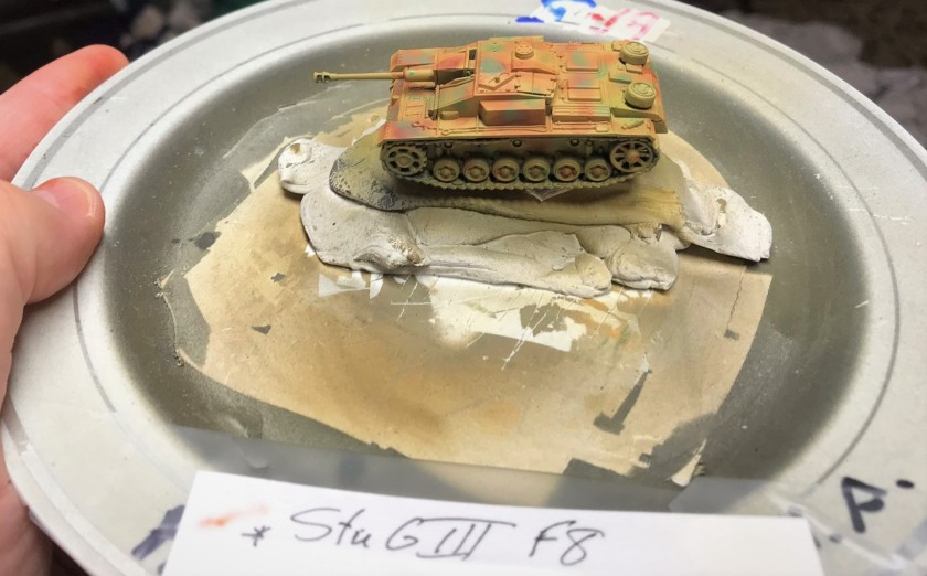 3 StuG F8 painted 3 color
