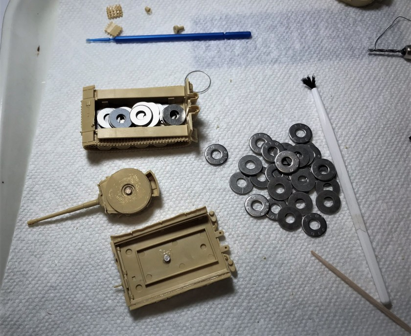 3 Tiger and washers