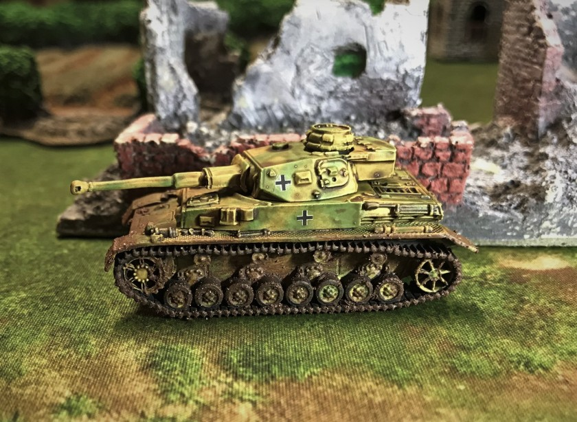 4 Panzer IVF2 complete right side