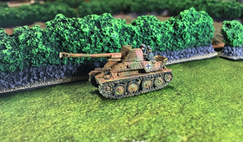 5 Marder III complete left side