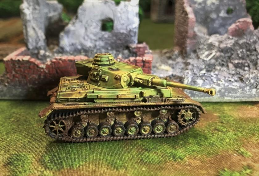 5 Panzer IVF2 complete left side