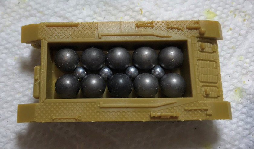 6 Panzer IVH with ball bearings and BB's