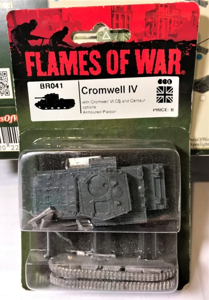 Resin and metal Cromwell Mark IV model