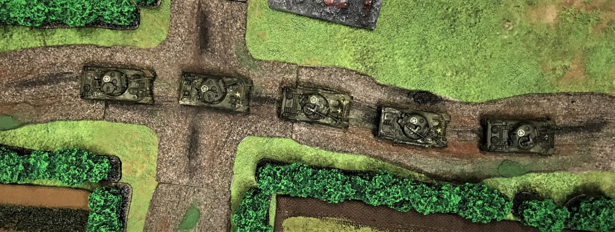 US Tanks and Tank Destroyers for Normandy Breakout Scenario