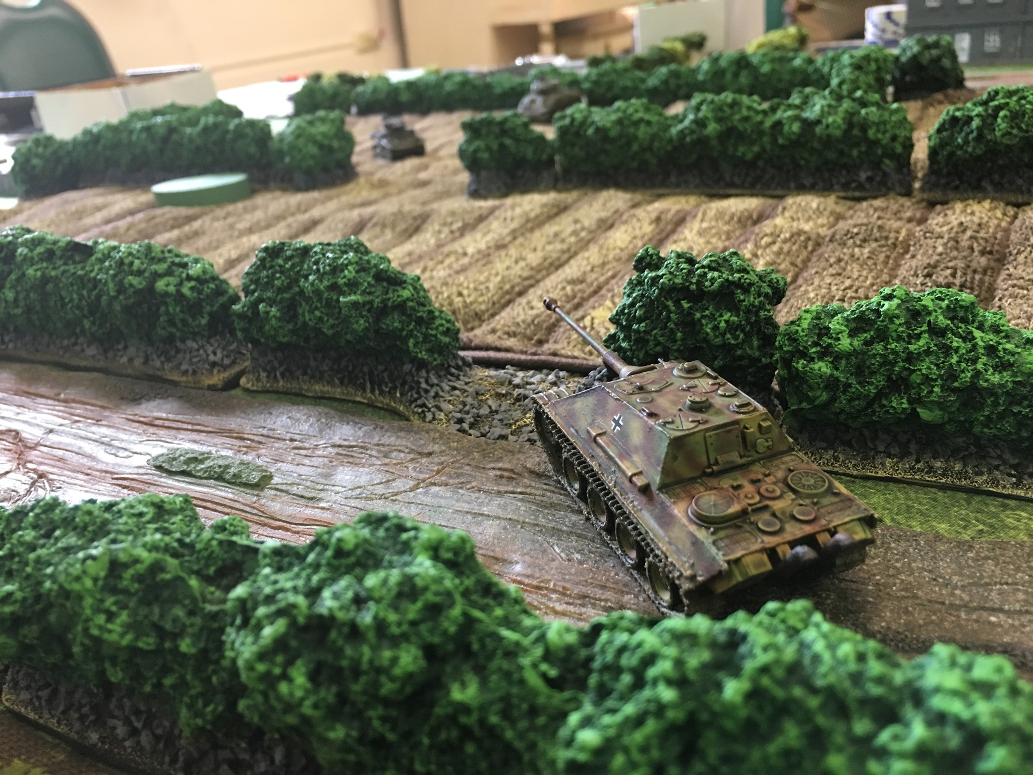 4 Jagdpanther hunts Stuart