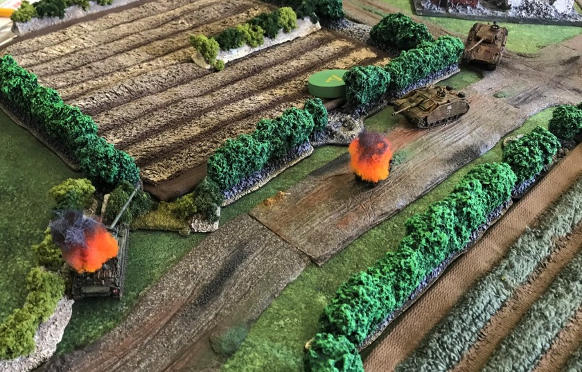 9 Firefly knocked out by StuG G